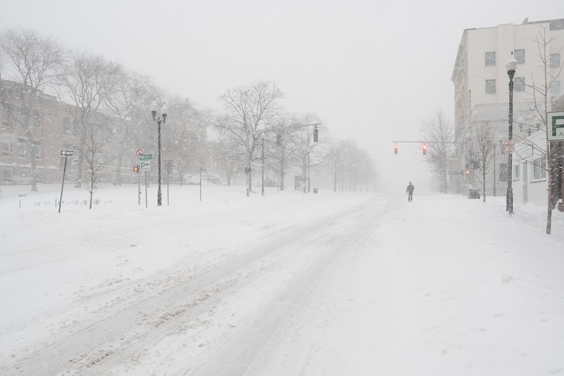 North Avenue, Blizzard of 2016