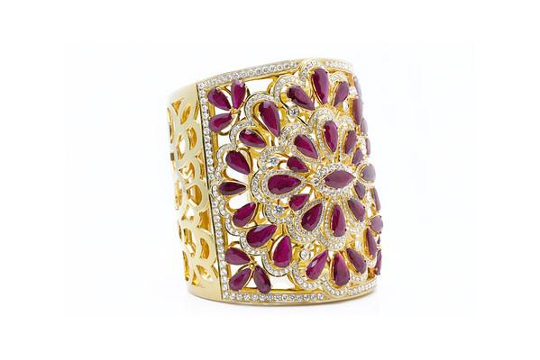 Ruby/ Diamond Bracelet