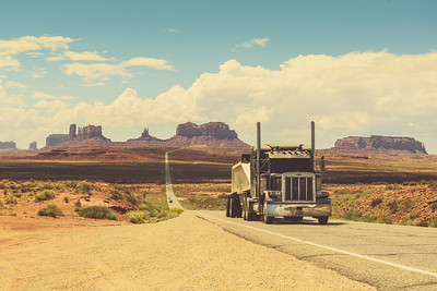 Monument Valley Truck
