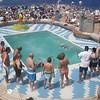 T-shirt swim relay