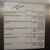 Galley tour - officer mess menu - not too shabby