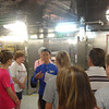 Galley tour - our tour guide
