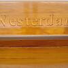 Westerdam bench - promenade deck