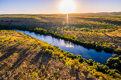 Beautiful nature at Kimberley in Western Australia.