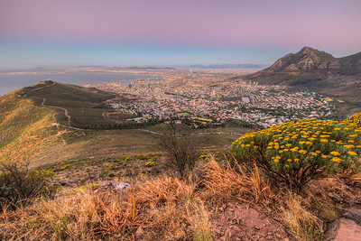 Full moon hike, Lion's Head Mountain, Cape Town, South Africa