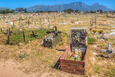 Cemetery somewhere near Cape Town, South Africa