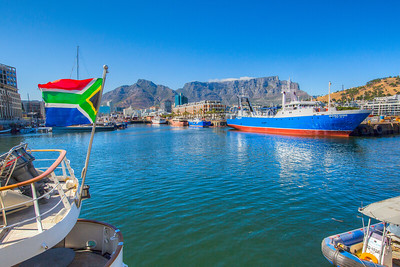Waterfront area of Cape Town, South Africa