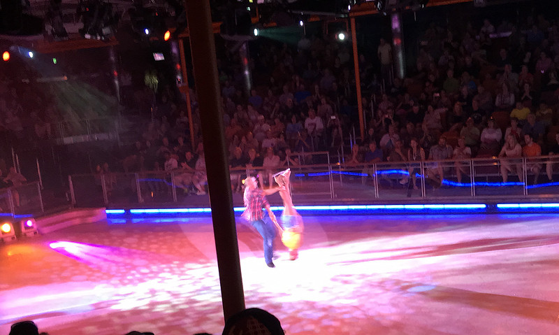 Ice skating show aboard the Liberty of the Seas - 2016