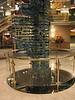 ship's atrium - Murano glass