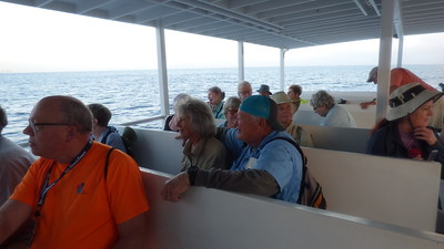 Group on Grand Cayman Tender