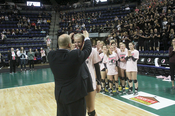 Western Christian Volleyball at the state tournament 2016