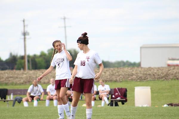 Western Christian girls' soccer vs. Sioux City East 5-24-17