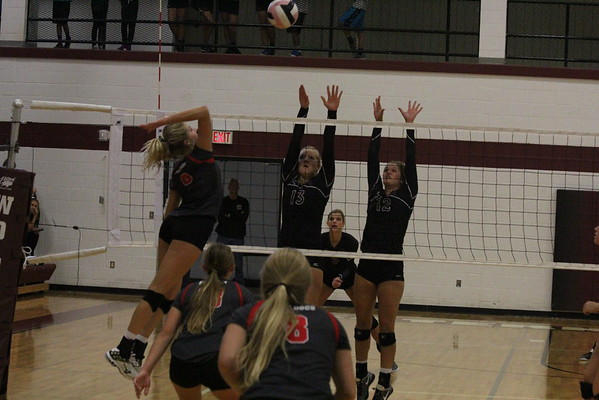 Western Christian vs. LeMars volleyball Tues. Sept. 27 2016