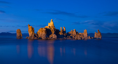 Mono Lake Light Painting