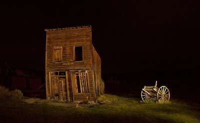 Bodie Light Painting