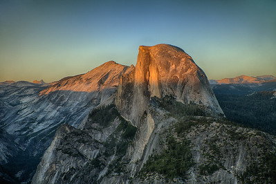 Sunset at Half Dome, Yosemite NP