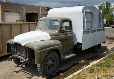 "1950's Gar Wood ""Slam Door"" Rear Loader"