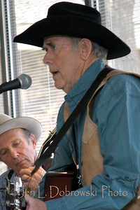 Coffman, Jerry  Reno, Nevada  2007 Cowboy Songs & Range Ballads Buffalo Bill Historical Center Cody, Wyoming  *Accompanied on the banjo by Bob Rainer, background