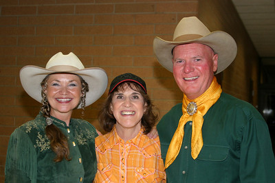 Belinda, Ruth Buzzi & Curly  Western Heritage Roundup Kanab, Utah 2006