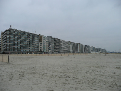 Heist, on the coast of Belgium