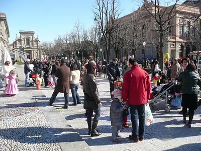 Carnevale at Bergamo