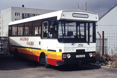 MacLennan Laxay C751CUC Inverness Traction Depot Mar 94
