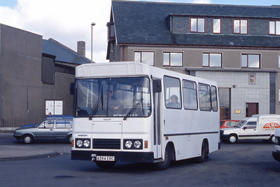 MacKay Dalbeg A394ERC Stornoway Bus Station Mar 91