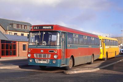 MacDonald Vatisker MSF745P Stornoway Bus Station Mar 91