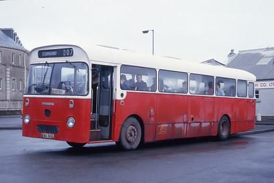 Lochs Motor Transport Leurbost KVA560L Stornoway Bus Station Feb 87