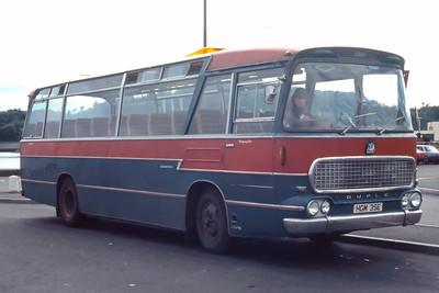 MacDonald Vatisker HGM35E Stornoway Bus Station Feb 87