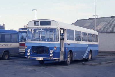 MacKay Dalbeg RRU592N Stornoway Bus Station Mar 91