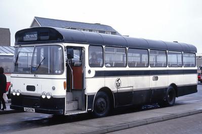 Western Isles Council GAS57N Stornoway Bus Station Feb 87