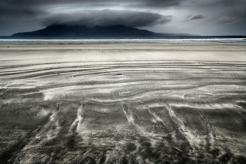 Sand Patterns Laig Bay Eigg