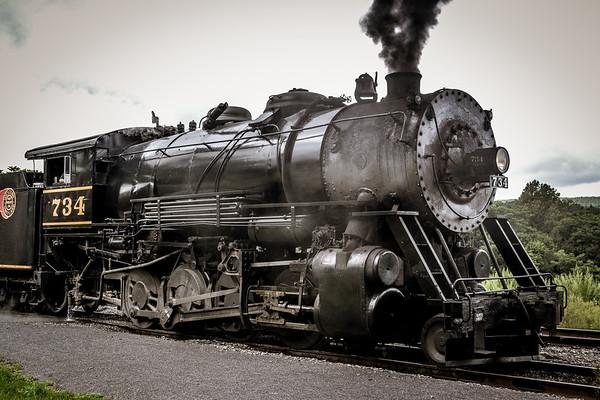 Western Maryland 734