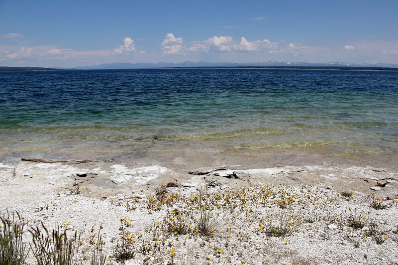 West Thumb, Yellowstone Lake