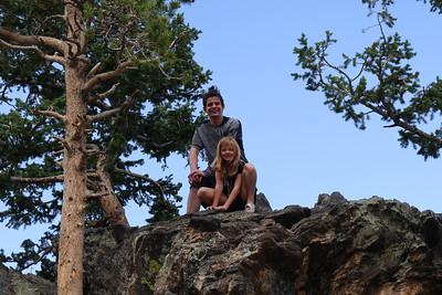 Other rock inhabitants, named Jaden and Leah.