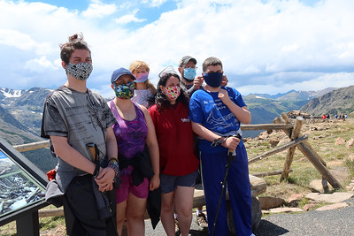 Every family HAS to have a masked-up photo during Covid-19 times.