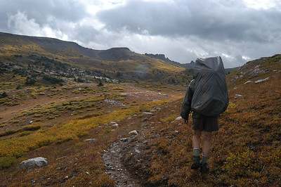 Coming out of Twin Lakes, it was tough to find the Continental Divide Trail (CDT), so progress was slow.