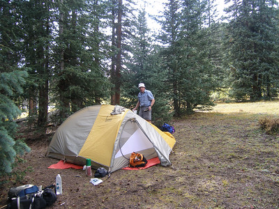 We decided to camp near Black Lake, just to make the day a bit easier.  We were ready to be there.