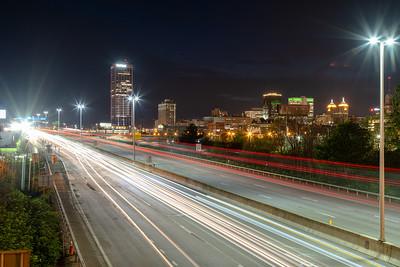 Buffalo at Night