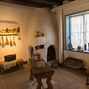 Room in Kit Carson's Home in Taos, N.M.