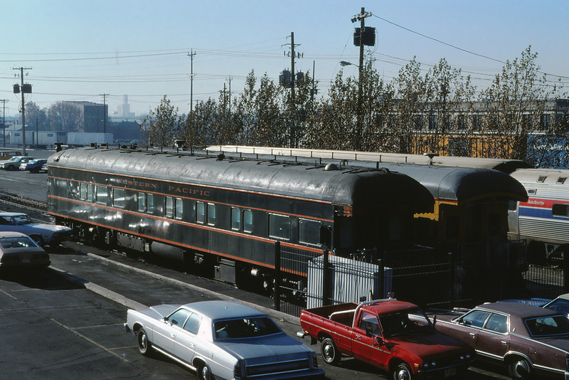 WPRR 74 - Dec 14 1979 - Business Car @ UP Depot Salt Lake City UT