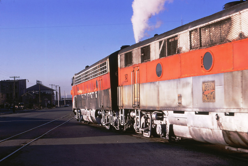 WPRR Eng# 805D EB on Cali Zepher last run 3-22-1970