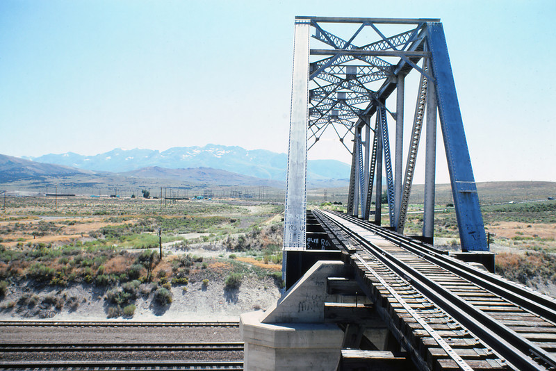 WPRR 86 - Aug 4 1980 - UP conn  bridge Wells NV