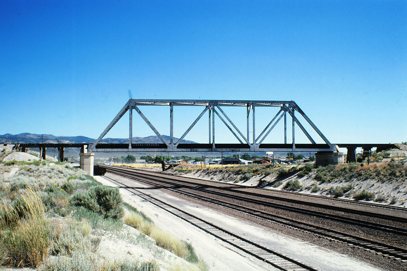 WPRR UP Connection Bridge  @ Wells, NV 8-4-1980