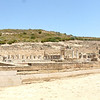 Second stop: the Doric City of Ancient Kamiros.  The city had its peak in the 7th century BC, but was superseded by Rhodes Town in the north following some earthquake.