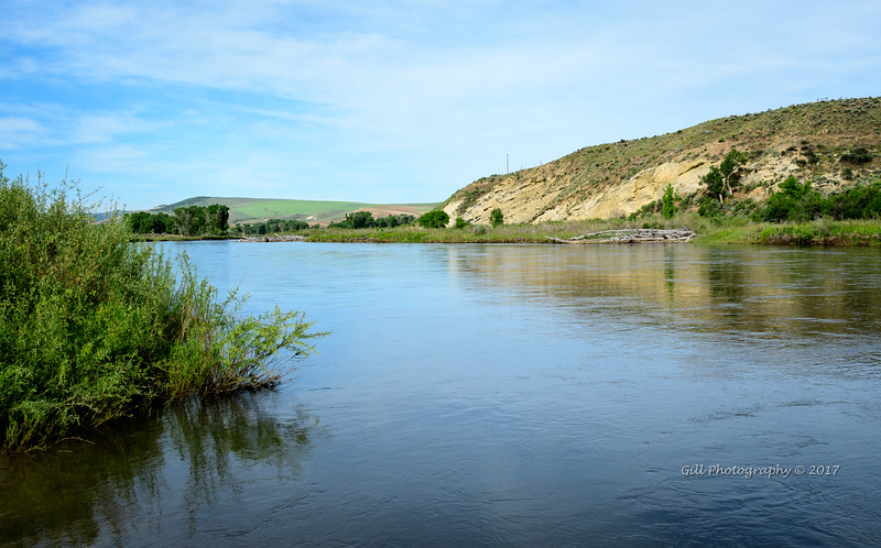Yampa River boat launch at South Beach, Craig, CO.