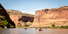Canoeing on the Colorado River with Centennial Canoe Outfitters.