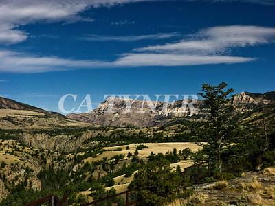 Yellowstone Gorge Wyoming
