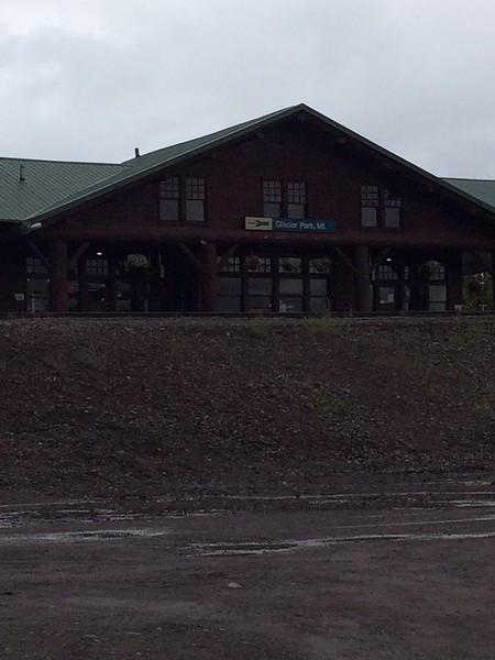 AmTrack Station at Glacier NTL Park